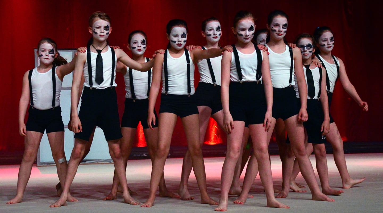 Dans 1-2-Dance Kids Berchem Choreo