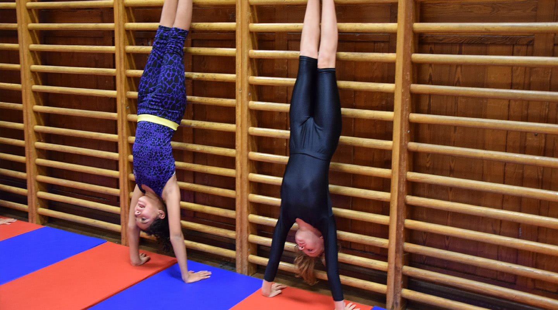 Scholieren gymnastiek Berchem Deurne